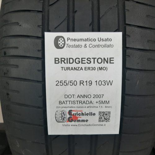 255/50 R19 103W Bridgestone Turanza ER30 (MO) – 60% +5mm – Gomma Estiva