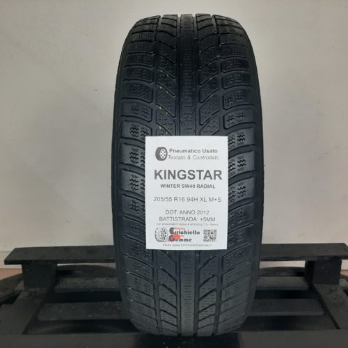 205/55 R16 94H XL M+S KingStar Winter SW40 Radial – 60% +5mm – Gomma Invernale