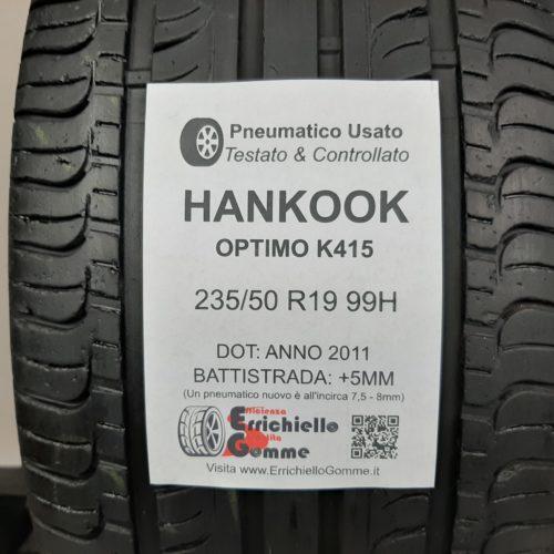 235/50 R19 99H Hankook Optimo K415 – 60% +5mm – Gomma Estiva