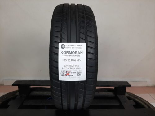 195/55 R16 87V Kormoran Road Performance – 60% +5mm – Gomma Estiva