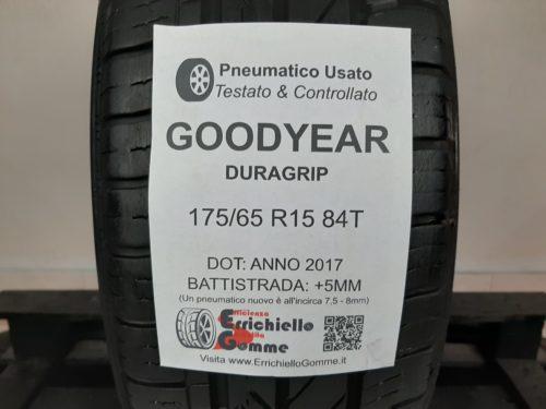 175/65 R15 84T Goodyear Duragrip – 60% +5mm – Gomma Estiva