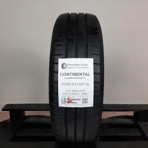 175/65 R14 84T XL Continental ContiEcoContact 5  – 60% +5mm – Gomma Estiva