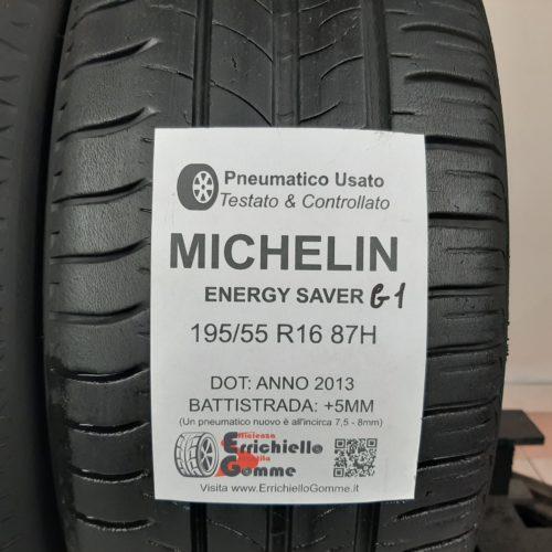 195/55 R16 87H Michelin Energy Saver G1 – 60% +5mm – Gomme Estive