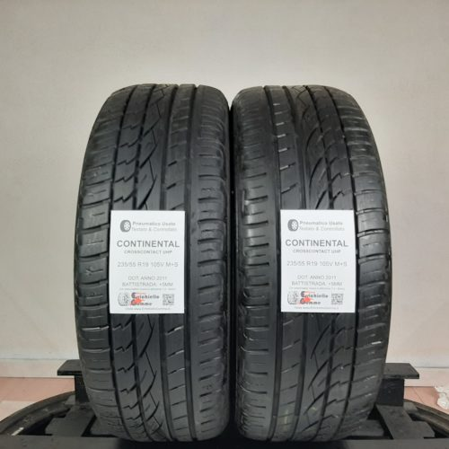 235/55 R19 105V M+S Continental CrossContact UHP –  60% +5mm – Gomme 4 Stagioni