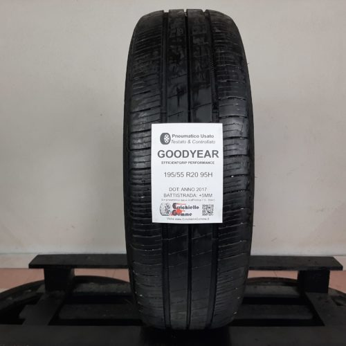 195/55 R20 95H Goodyear EfficientGrip Performance – 60% +5mm Gomma Estiva