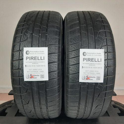 245/50 R18 100H M+S Pirelli Sottozero Winter 210 Serie 2 (Runflat) – 60% +5mm Gomme Invernali