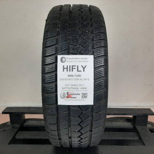 205/50 R17 93H XL M+S HiFly Win-Turi – 70% +6mm – Gomma Invernale