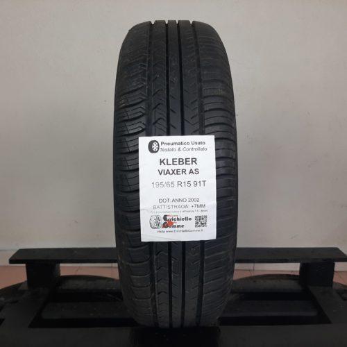 195/65 R15 91T Kleber Viaxer AS – 90% +7mm – Gomma Estiva