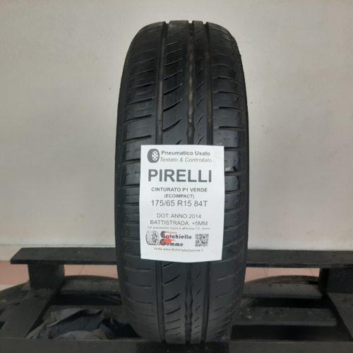 175/65 R15 84T Pirelli Cinturato P1 Verde (EcoImpact) – 60% +5mm – Gomma Estiva