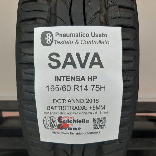 165/60 R14 75H Savan Intensa HP – 60% +5mm – Gomma Estiva