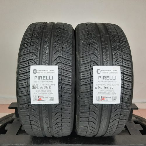 225/45 R17 94W XL M+S Pirelli All Season Cinturato (Seal Inside) –   60% +5mm – Gomme 4 Stagioni