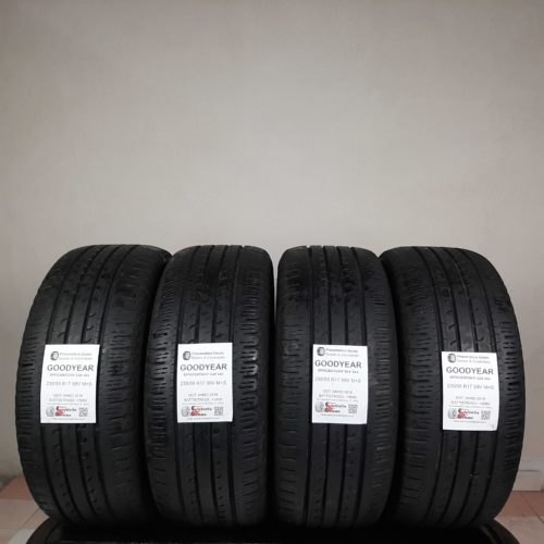 235/55 R17 99V M+S Goodyear EfficientGrip SUV 4×4 – 60% +5mm – Gomme 4 Stagioni