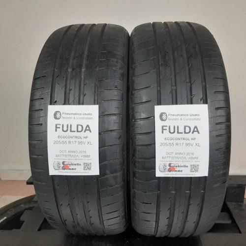 205/55 R17 95V XL Fulda EcoControl HP – 60% +5mm – Gomme Estive