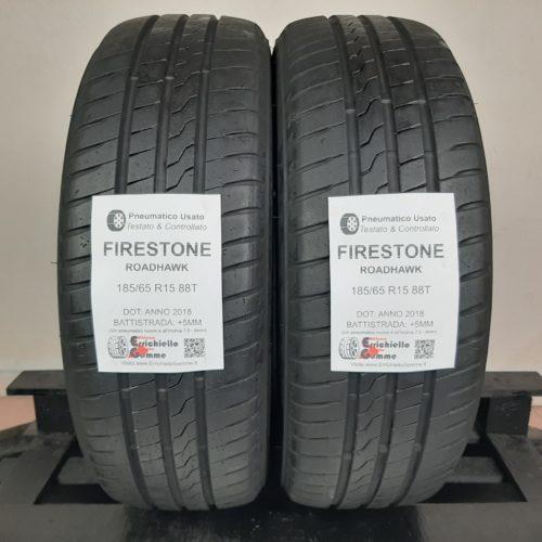 185/65 R15 88T Firestone RoadHawk – 60% +5mm – Gomme Estive