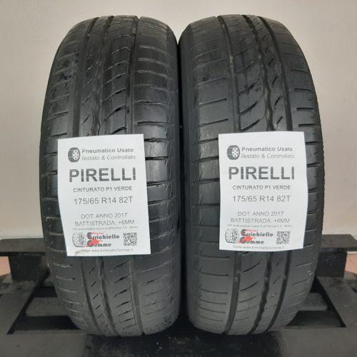 175/65 R14 82T Pirelli Cinturato P1 Verde – 70% +6mm – Gomme Estive