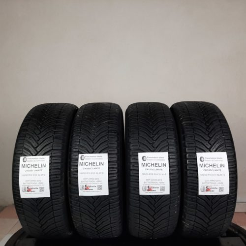 195/55 R16 91H XL M+S Michelin CrossClimate – 60% +5mm – Gomme 4 Stagioni