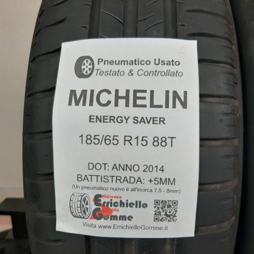185/65 R15 88T Michelin Energy Saver  – 60% +5mm – Gomme Estive