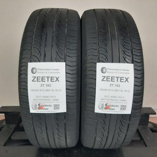 185/60 R15 88H XL M+S Zeetex ZT102 – 60% +5mm Gomme 4 Stagioni