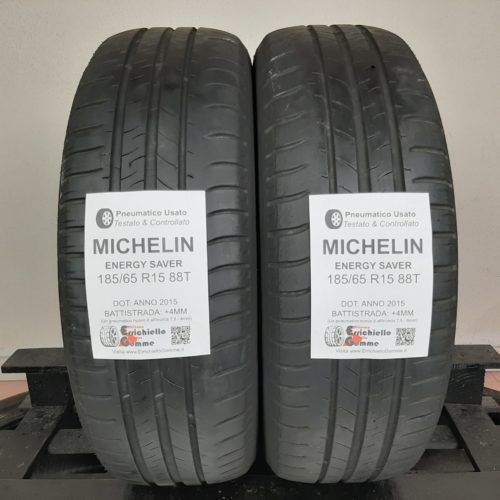 185/65 R15 88T Michelin Energy Saver – 50% +4mm – Gomme Estive