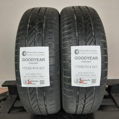 175/65 R14 82T Goodyear Duragrip – 60% +5mm – Gomme Estive
