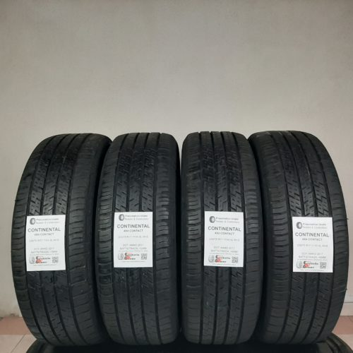 235/70 R17 111H XL M+S Continental 4×4 Contact – 60/70% +5/6mm Gomme Estive