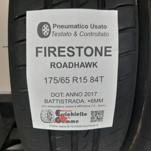 175/65 R15 84T Firestone RoadHawk – 70% +6mm – Gomme Estive