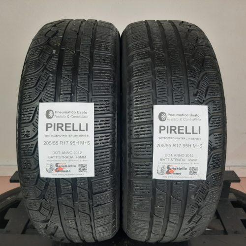 205/55 R17 95H M+S Pirelli SottoZero Winter 210 Serie II – 70% +6mm – Gomme Invernali