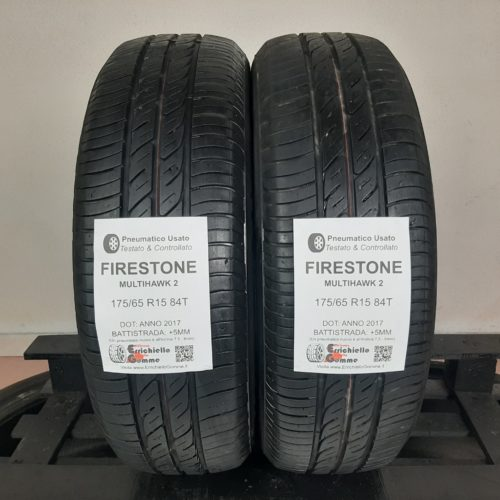 175/65 R15 84T Firestone MultiHawk 2 – 60% +5mm – Gomme Estive