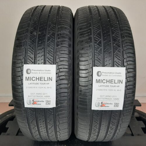 215/65 R16 102H XL M+S Michelin Latitude Tour HP – 50% +4mm – Gomme 4 Stagioni