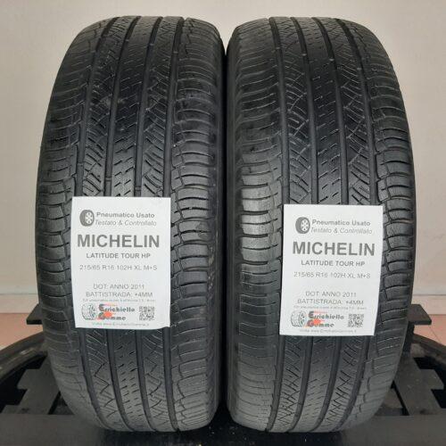215/65 R16 102H XL M+S Michelin Latitude Tour HP – 50% +4mm – Gomme 4 Stagioni