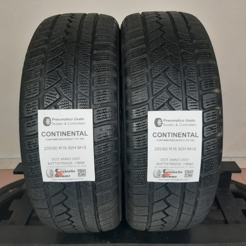 205/60 R16 92H M+S Continental ContiWinterContact (TS 790) – 60% +5mm – Gomme Invernali