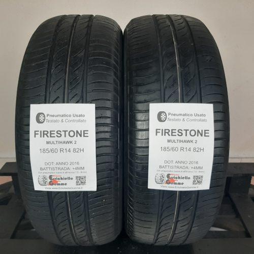 185/60 R14 82H Firestone MultiHawk 2 – 50% +4mm – Gomme Estive