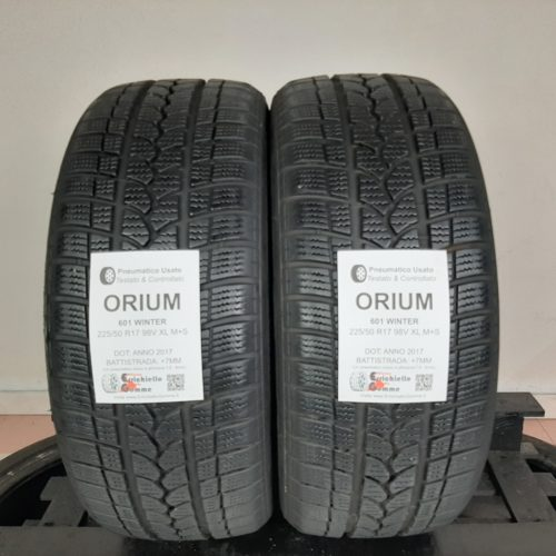 225/50 R17 98V XL M+S Orium 601 Winter –  90% +7mm – Gomme Invernali