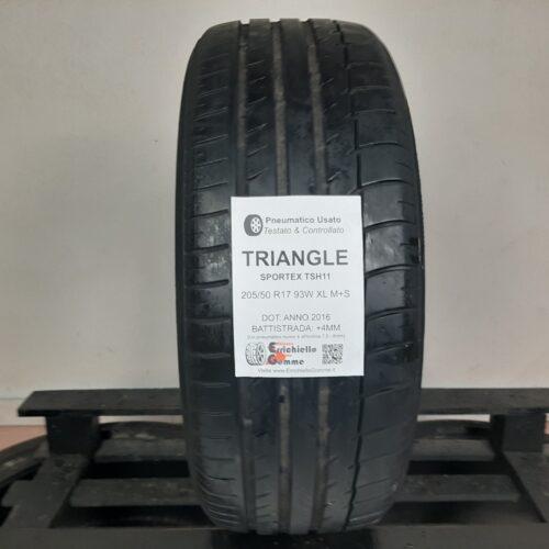 205/50 R17 93W Triangle Sportex TSH11 – 50% +4mm – Gomma Estiva
