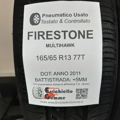 165/65 R13 77T Firestone MultiHawk – 60% +5mm – Gomme Estive