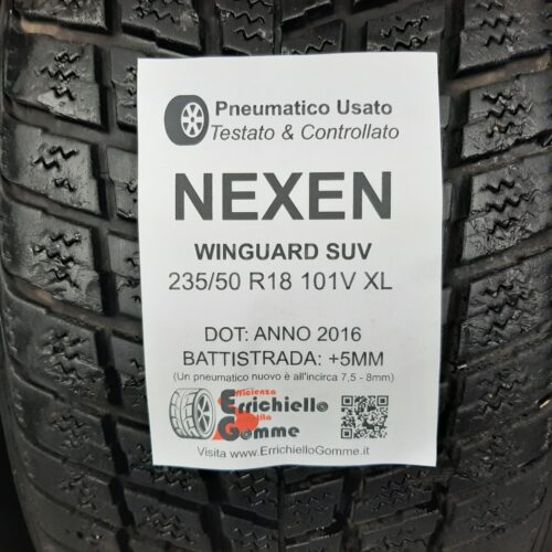 235/50 R18 101V XL M+S Nexen Winguard SUV – 60% +5mm – Gomme 4 Stagioni