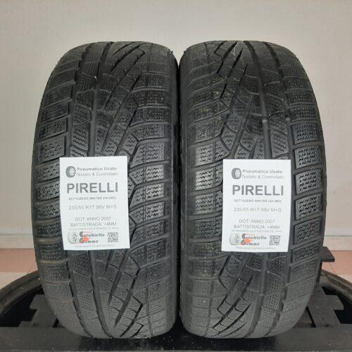235/55 R17 99V M+S Pirelli SottoZero Winter 240 (MO) – 50% +4mm – Gomme Invernali