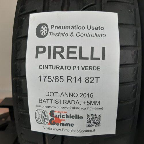 175/65 R14 82T Pirelli Cinturato P1 Verde –  60% +5mm – Gomme Estive
