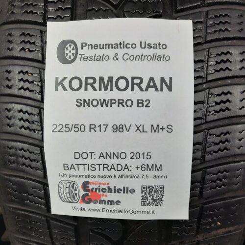 225/50 R17 98V XL M+S Kormoran SnowPro B2 – 70% +6mm – Gomme Invernali