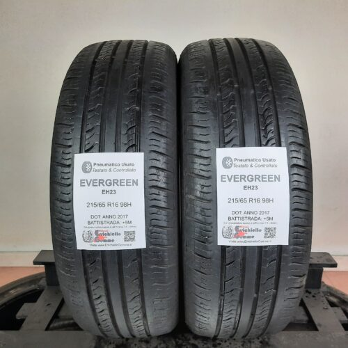 215/65 R16 98H Evegreen EH23 – 60% +5mm – Gomme Estive