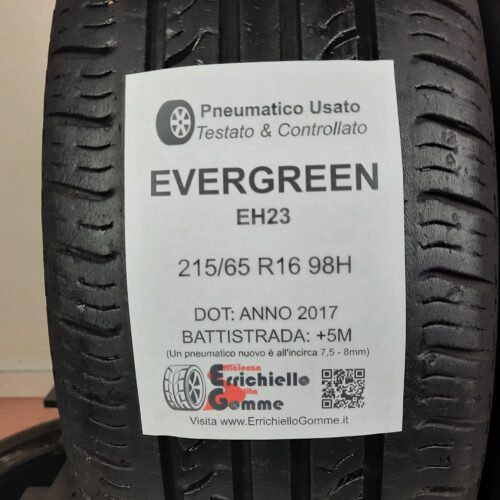 215/65 R16 98H Evegreen EH23 – 60% +5mm – Gomme Estive