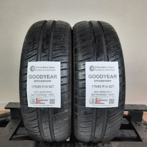 175/65 R14 82T Goodyear EfficientGrip –  60% +5mm Gomme Estive